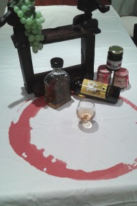 mistela y brandy
