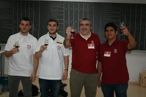 Ecuador y Suiza, las dos selecciones ganadoras del Torneo de cata