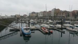 Puerto de Gijón,
