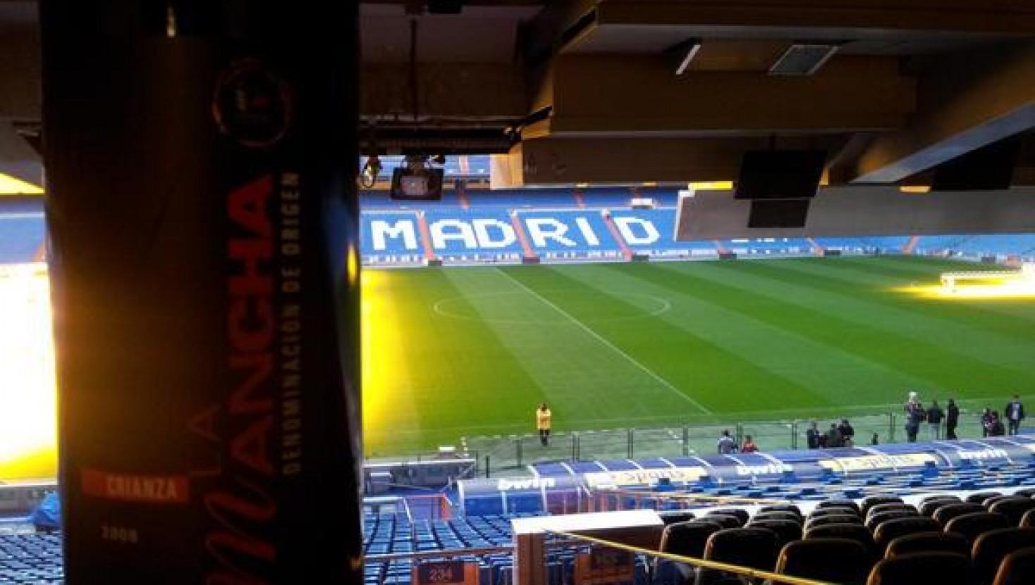 La cantera de los vinos DO La Mancha, triunfan en el Bernabéu